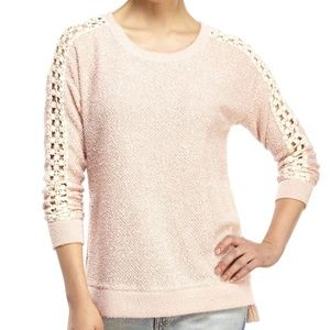 [JessicaSimpson] XL Cut Out Shoulder Sweater